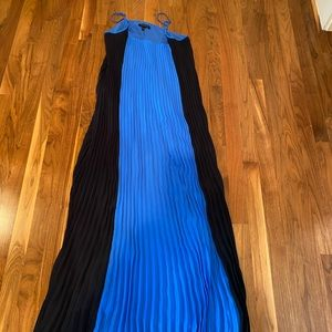 Banana Republic Pleated Maxi Dress